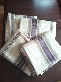 Set of 4 curtains. thick 83×52 Grand Chute, 54913