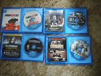 Ps4 games, (can be sold seperately) Good condition Saint Charles, 63301