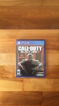 Call of Duty Black Ops 3 PS4 game case Montréal, H3N 2H8