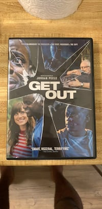 Get out dvd