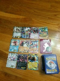 Pokemon deck with 10 mega/ex cards and 3 sleeves and a coin aswell. Virginia Beach, 23454