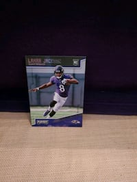 2018 Lamar Jackson Rookie Card  Baltimore, 21206