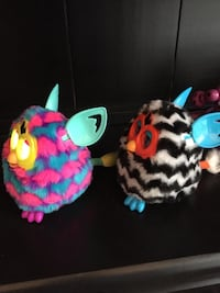 Furbys *Pink and Blue Hearts Boom* & *Zig Zag* Sterling, 20165