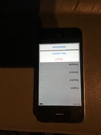 Black iphone 4 Bennettsville, 29512