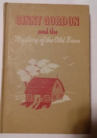 Vintage - Ginny Gordon and the Mystery of the Old Barn - 1951 Castle Hayne