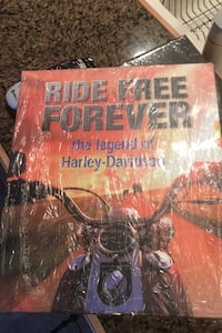Book.  Ride Free Forever the legend of Harley-Davidson