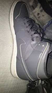 Pair grey nike air force 1 low