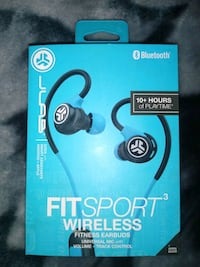JLAB FIT SPORT 3 WIRELESS HEADPHONES