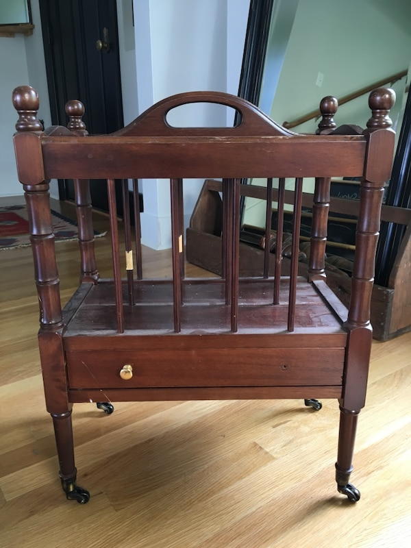 Antique Sheet Music/Magazine Rack