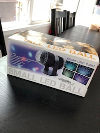 Small LED Disco ball Party Light Gaithersburg, 20877