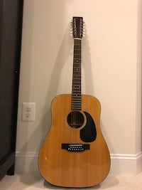 Takamine and co guitar Aldie, 20148