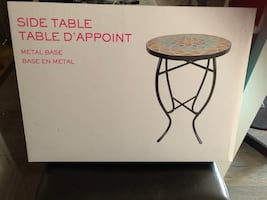 Side table brand new