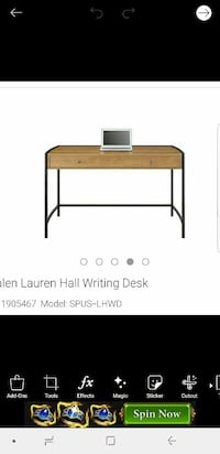 Brand new in box walnut desk perfect gift!  Lehigh Acres