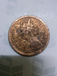 Victoria queen 1/2 pice 1862 coin sell  ঢাকা