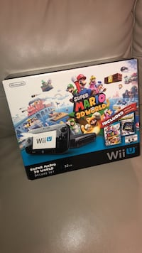 Wii U super Mario world 3D DELUXE Edition  London, N6L 0A6