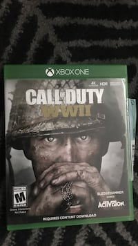 Call of duty ghosts xbox one game case Chilliwack, V2P 5W2