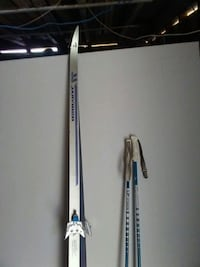 pair of gray snow skis Calgary, T3E