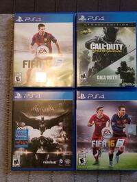 Ps4 games- $15 each  Mississauga, L4Y 2B2
