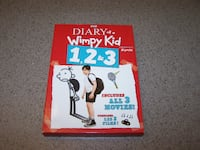 Diary of a Wimpy Kid 1, 2 & 3 (DVD, 2014, 3-Disc Set)  Vaughan
