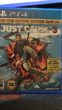 Sony PS4 just cause 3