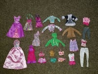 Barbie clothes  Dearborn Heights, 48125