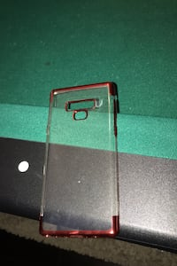 Samsung Note 9 Red /Clear GelSkin Milton, L9T 0Y6