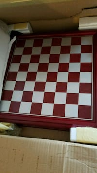 red, white, and black chess board Woodbridge, 22191