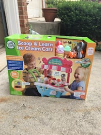 Kids ice cream play cart