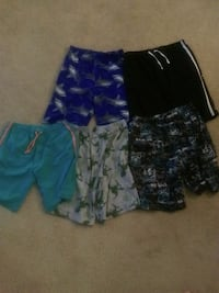 Lot of 5 boys house shorts size 10/12 Columbia