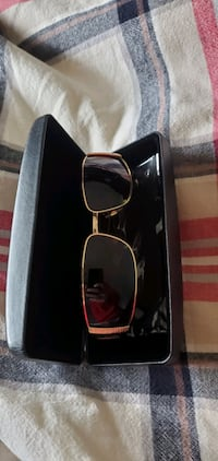 REAL VERSACE gold sunglasses (never used)
