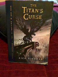 The Titan's Curse book by Rick Riordan Tumwater, 98512