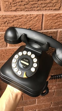 'Vintage' looking rotary phone from pottery barn  Toronto, M6E 2S2