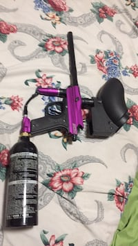 black and red paintball marker 2272 mi