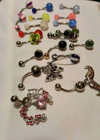 New unused belly button rings Clarksville