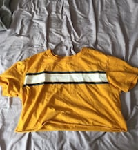 Forever 21 yellow crop top  Toronto