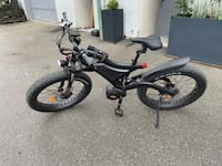 Brand new Fujiang electric mountain bike North Vancouver, V7P