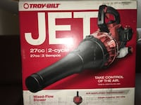 Troy bilt blower 27cc 2 cycle very lightly used Gaithersburg, 20878