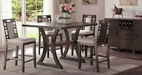 5pcs dinning table