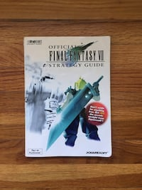 Final Fantasy VII 7 Player Guide Book Bakersfield, 93301