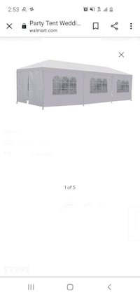 10x30 White Canopy for party & events! Pasadena