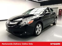 2013 *Acura* *ILX* 2.4L Premium Pkg sedan Black Houston