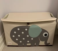 3 Sprouts Elephant Toy Chest Hamilton, L9G