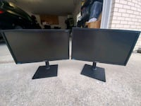 "Two 23"" Samsung monitors S23C450 Palos Hills, 60465"