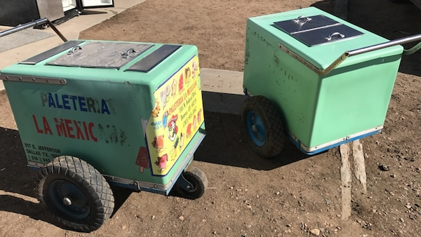 Used 15 Paleteria La Mexis Food Carts 3 Sold For Sale In