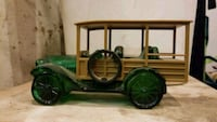 black and green car toy Lecompton, 66050