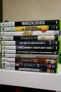 Old Xbox 360 games 34 km