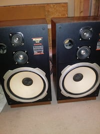 Fisher speakers