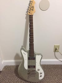 Ibanez Jet King Jtk30 Great condition, awesome silver sparkle finish. Would consider trades for MIM Fenders, semi hollows, or other interesting guitars. Try me!