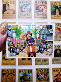 25 autocollants ONE PIECE / ONE PIECE stickers Montreal, H1W 1S4