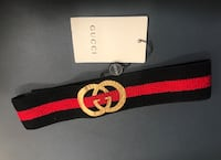 Black and red gucci headband  Charles Town, 25414